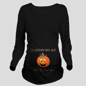 pumpkin maternity Long Sleeve Maternity T-Shir