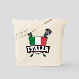 Italia Italy Lacrosse Logo Tote Bag