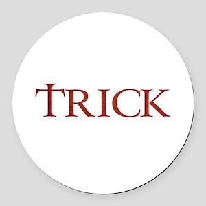 Celtic Trick Round Car Magnet