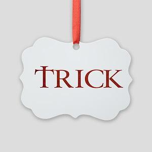 Celtic Trick Picture Ornament