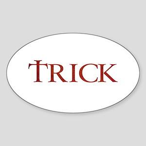 Celtic Trick Oval Sticker