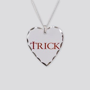 Celtic Trick Necklace Heart Charm