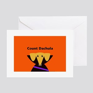 Count Dachula Greeting Cards