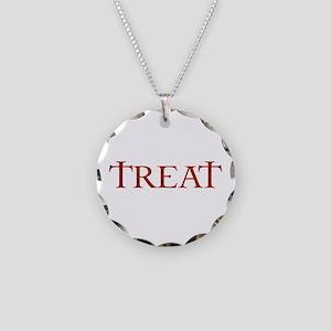 Celtic Treat Necklace Circle Charm