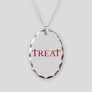 Celtic Treat Necklace Oval Charm