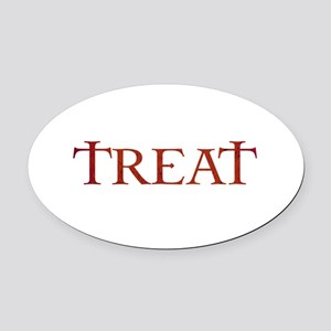 Celtic Treat Oval Car Magnet