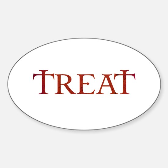 Celtic Treat Oval Decal