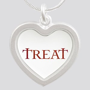 Celtic Treat Silver Heart Necklace