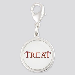 Celtic Treat Silver Round Charm