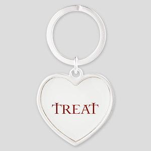 Celtic Treat Heart Keychain