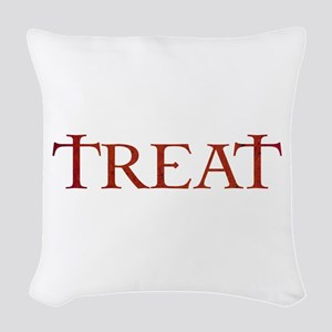 Celtic Treat Woven Throw Pillow