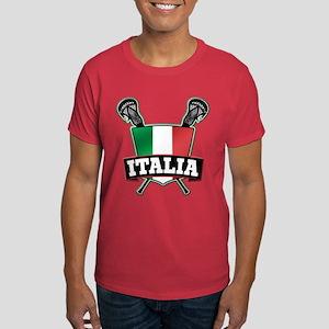 Italia Italy Lacrosse Logo T-Shirt