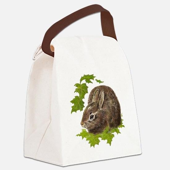 Cute Little Bunny Rabbit Pet Animal Watercolor Can