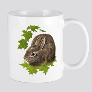 Cute Little Bunny Rabbit Pet Animal Watercolor Mug