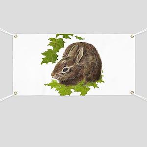 Cute Little Bunny Rabbit Pet Animal Watercolor Ban