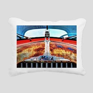 Mack Truck Rectangular Canvas Pillow