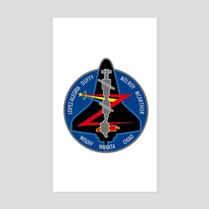 STS-92 Discovery Sticker (Rectangle)