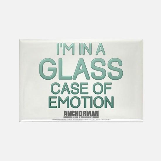 Glass Case of Emotion Rectangle Magnet