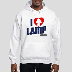 I Love Lamp Hooded Sweatshirt