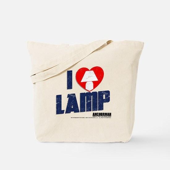 I Love Lamp Tote Bag