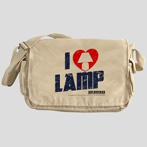 I Love Lamp Messenger Bag