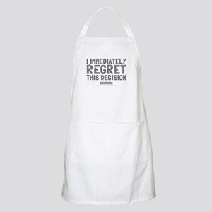 Regret This Decision Apron