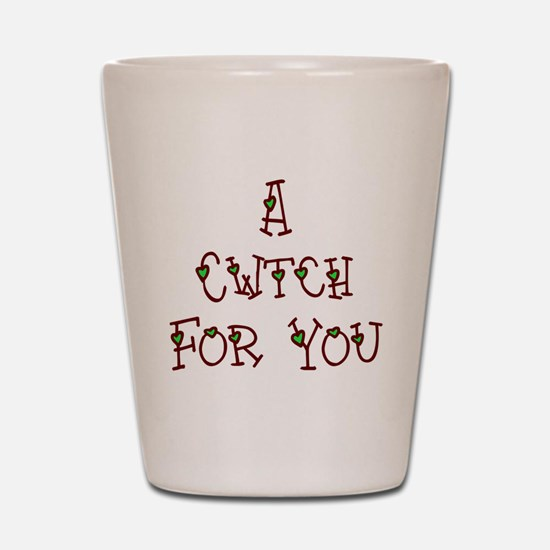 A Cwtch Shot Glass