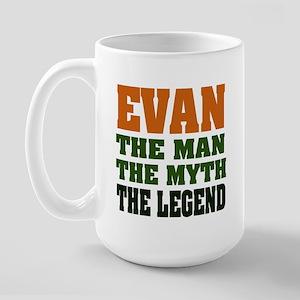 EVAN - the legend! Large Mug