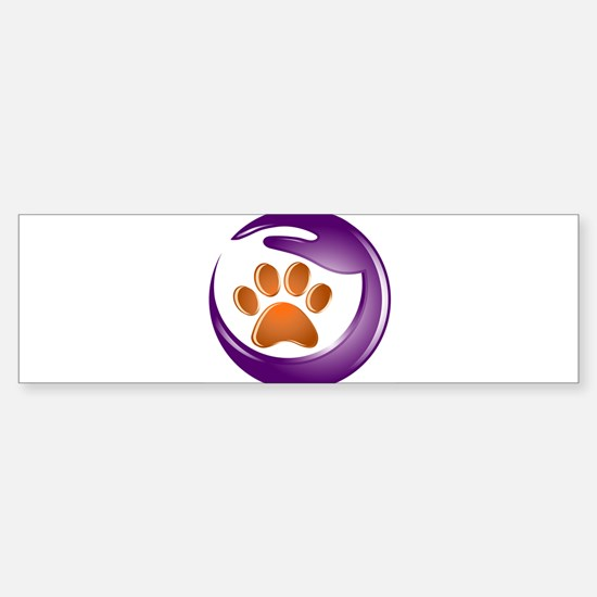 I Am Paw Friendly Bumper Bumper Bumper Sticker