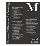 M: Vocal Music Poster