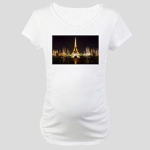 A Night In Paris Maternity T-Shirt