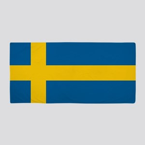 Swedish Flag Beach Towel