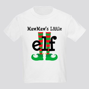 Mawmaw's Little Elf Kids Light T-Shirt