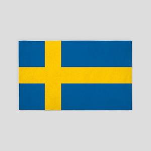 Swedish Flag 3'x5' Area Rug