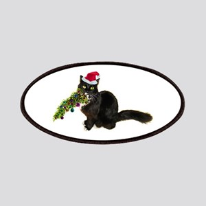 Cat Christmas Tree Patches
