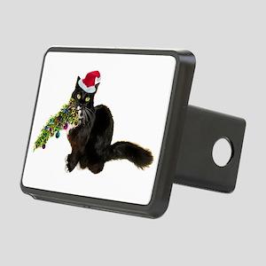 Cat Christmas Tree Rectangular Hitch Cover