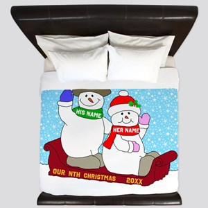 Our Nth Christmas King Duvet