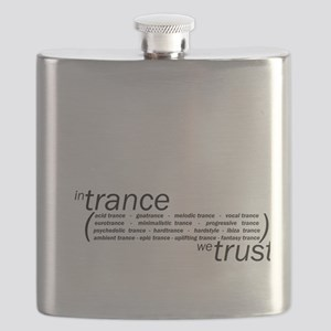 In Trance We Trust Flask