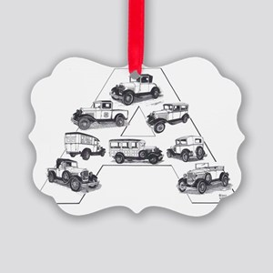 Model A Ford Picture Ornament