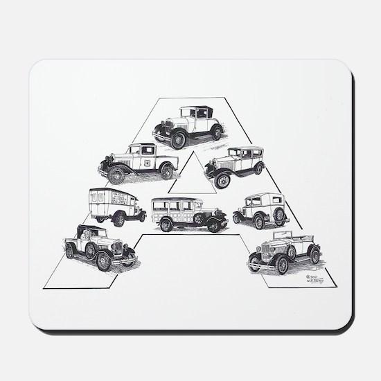 Model A Ford Mousepad