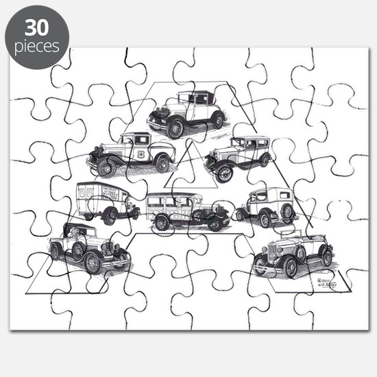 Model A Ford Puzzle