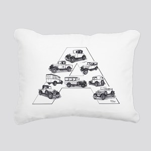 Model A Ford Rectangular Canvas Pillow