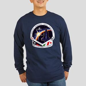 STS-100 Endeavour Long Sleeve Dark T-Shirt