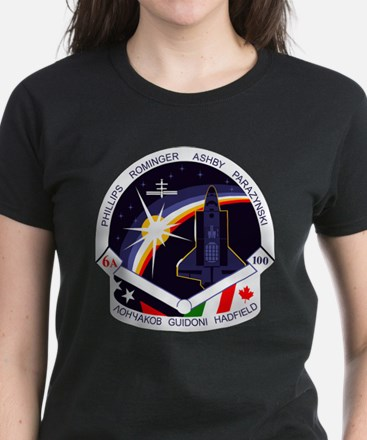 STS-100 Endeavour Women's Dark T-Shirt