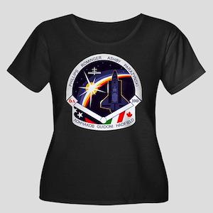 STS-100 Endeavour Women's Plus Size Scoop Neck Dar