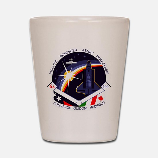 STS-100 Endeavour Shot Glass