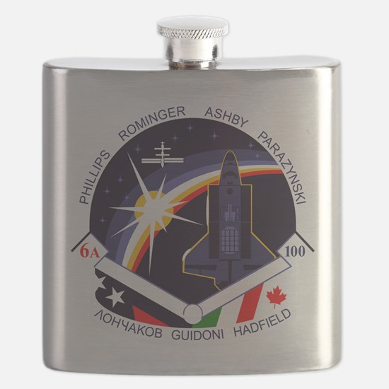 STS-100 Endeavour Flask