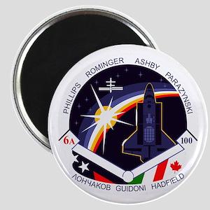 STS-100 Endeavour Magnet