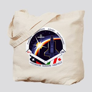 STS-100 Endeavour Tote Bag