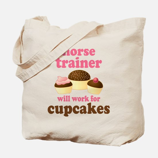 Funny Horse Trainer Tote Bag